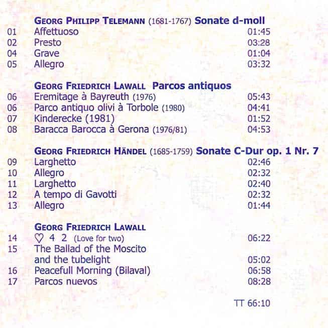 CD-Inlay 'Eremitage'