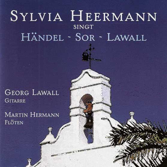 CD-Cover Sylvia Heermann singt Händel, Sor, Lawall