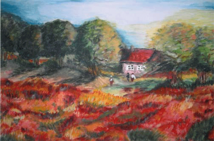 Gemälde von Irma-Luisa Gaugele