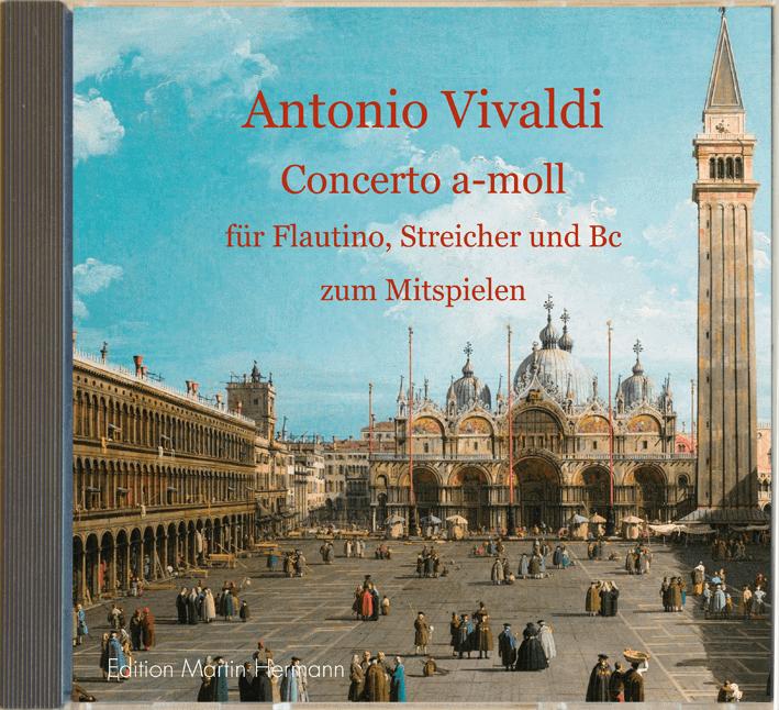 Mitspiel-CD Antonio Vivaldi Concerto a-moll