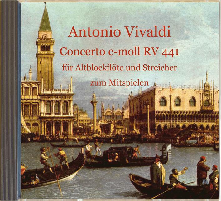 Mitspiel-CD Antonio Vivaldi, Concerto c-moll
