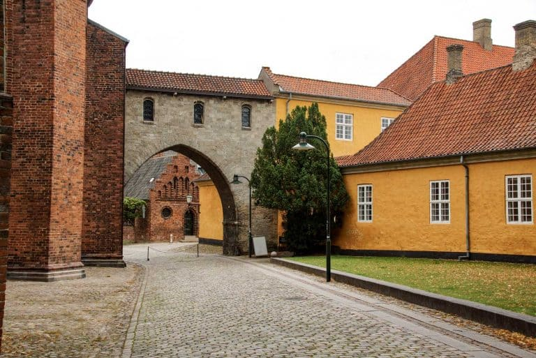 Hinterm Dom, Roskilde Dänemark