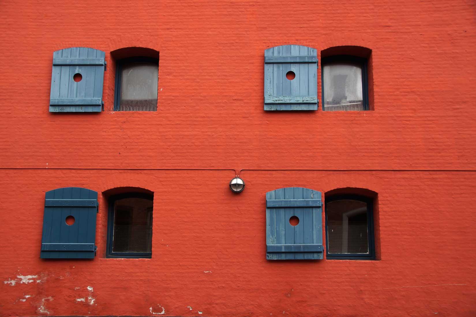 Rotes Parkhaus, Naestved Dänemark