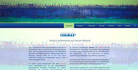 Homepage Cobimax Kirstin Kares