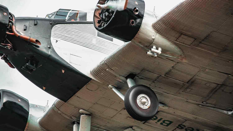Junkers Ju 52 im Landeanflug